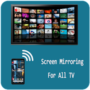 Screen Mirroring With TV Mobile Screen To TV