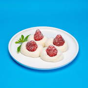 Strawberry Red Bean Mochi (4 pcs)