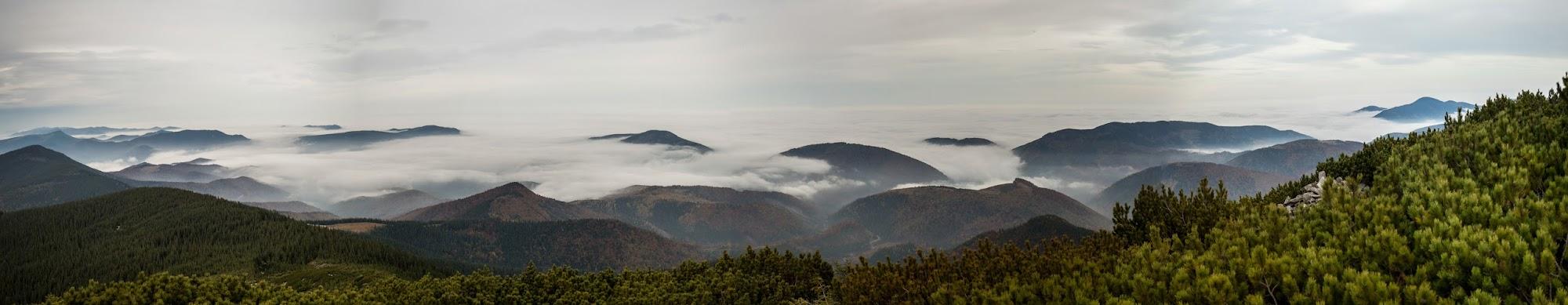 Панорама з Горгана Ілемського