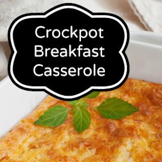 Crockpot Breakfast Casserole.