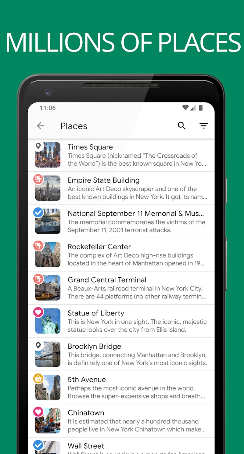 Sygic Travel Maps Offline & Trip Planner Screenshot 1