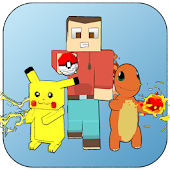 Cube Craft Go: Pixelmon Battle