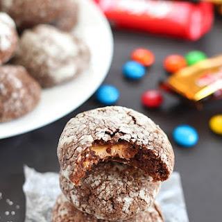 Chocolate Surprise Crinkle Cookies