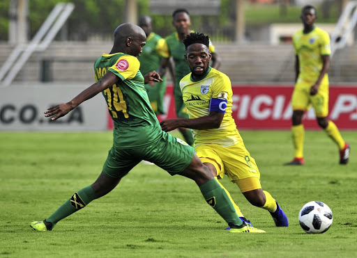 Mduduzi Mdantsane of Baroka and his teammates, come tomorrow, will know that their fans are all behind them, win or lose to Pirates./Samuel Shivambu / BackpagePix