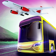 Airport Bus Driving Game 2019:City Simulator 3D icon