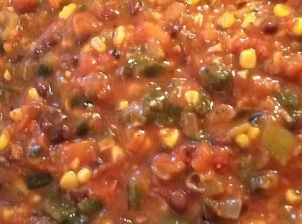 Homemade Corn And Black Bean Salsa Recipe