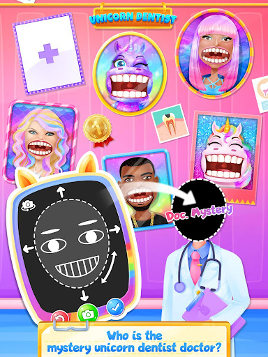 Unicorn Dentist: capturas de pantalla del Rainbow Pony Beauty Salon 2