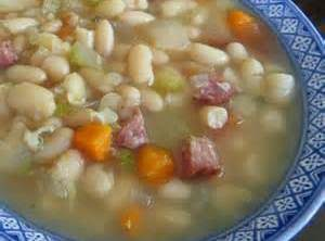 Mama's Ham And White Bean Soup Recipe
