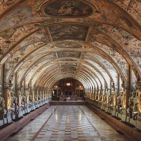Residenz München by Helga Be - Buildings & Architecture Public & Historical ( antiquarium )