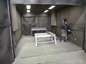 Photo: Cabine de sablage en jet libre Ab decometal