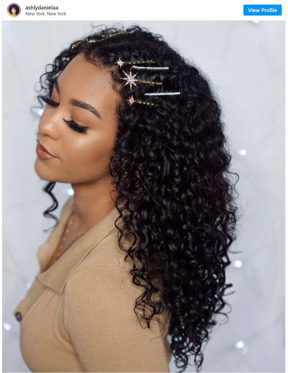 jeweled accent barrettes for hair