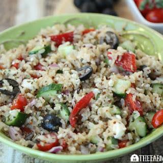 Mediterranean Rice Salad & Giveaway.