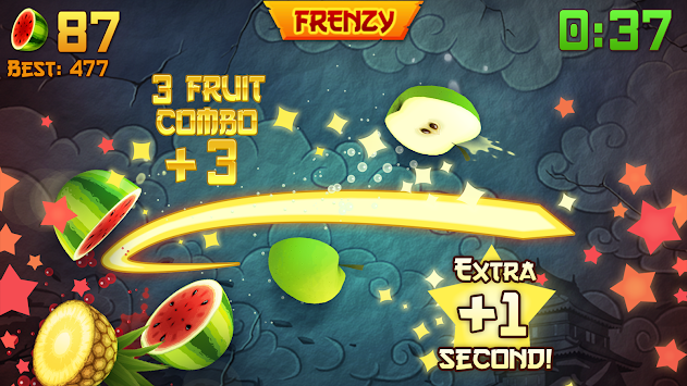 Fruit Ninja Free apk screenshot