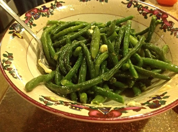Serve with Green Beans or other vegetables of choice. Can make a gravy if...