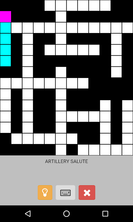 English Crossword - στιγμιότυπο οθόνης