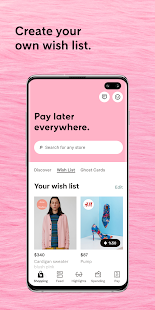 App Klarna - Shop now. Pay later. APK for Windows Phone