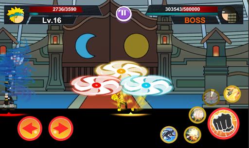 Download Stickman Ninja 2: Ultimate ninja warrior MOD APK 2