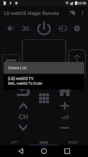 LG webOS Magic Remote - náhled