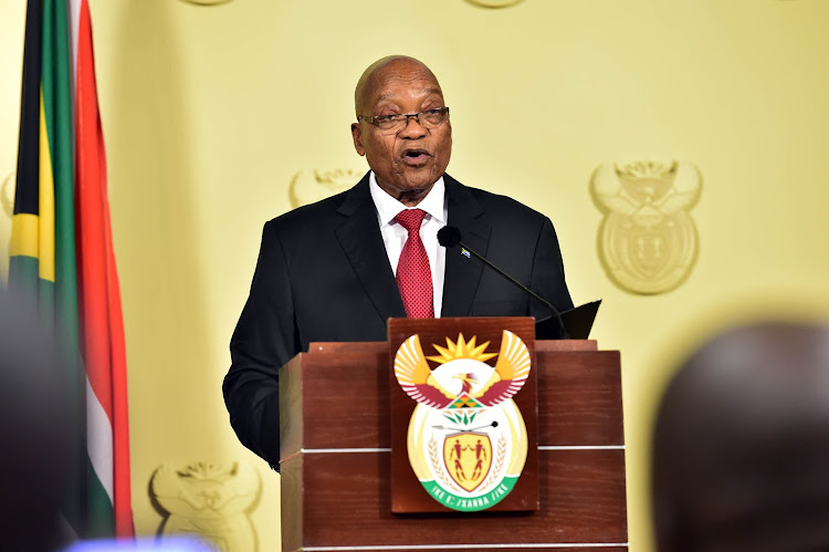 Jacob Zuma addresses the nation on his resignation as President of South Africa.
