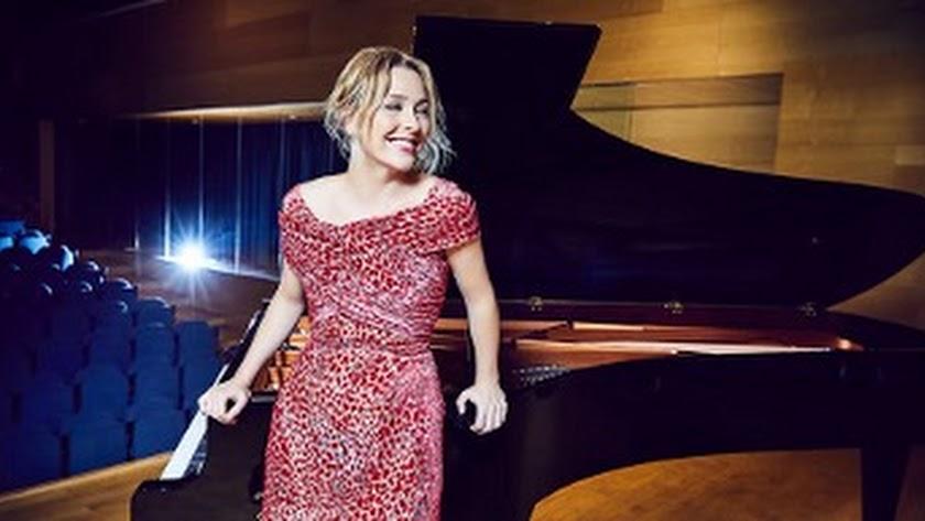 La pianista Judith Jáuregui