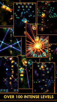 Plasma Sky - rad space shooter - screenshot