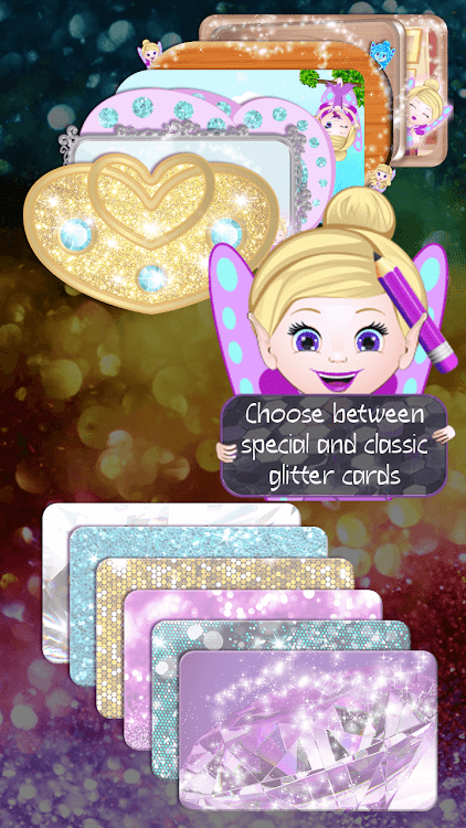Glitter Notepad App - Cute Sticky Notes – (Android Apps
