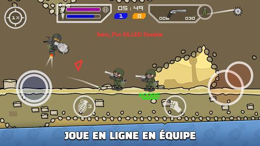 Mini Militia - Doodle Army 2 APK MOD – Monnaie Illimitées (Astuce) screenshots hack proof 2