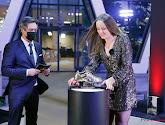 Tine De Caigny remporte le Soulier d'Or féminin !