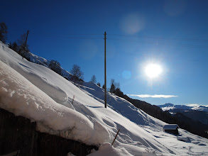 Photo: Snow …