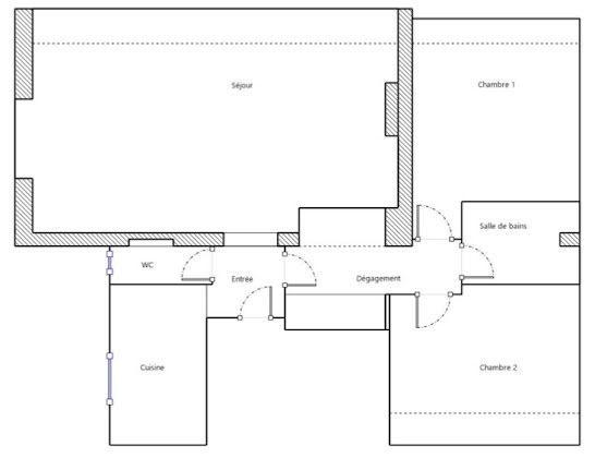 Vente appartement 3 pièces 67,48 m2