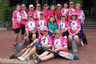 Photo: Dragons Abreast Coffs Coast CNY 2011 - composite team The Sunbirds