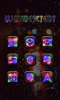 Luminescent - Solo Theme - screenshot