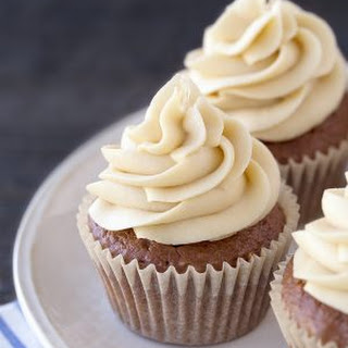 Easy Mocha Cupcakes.