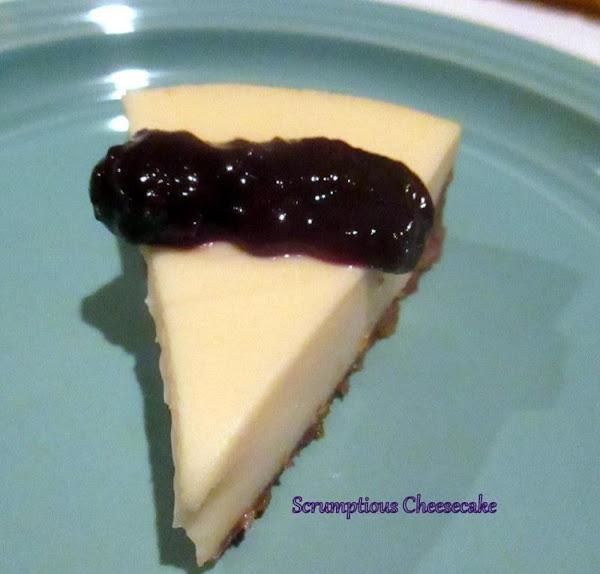 ~ Scrumptious Cheesecake ~ Recipe