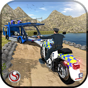 OffRoad Police Bike Transport