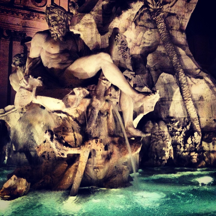 Piazza Navona - Fountains of Rome