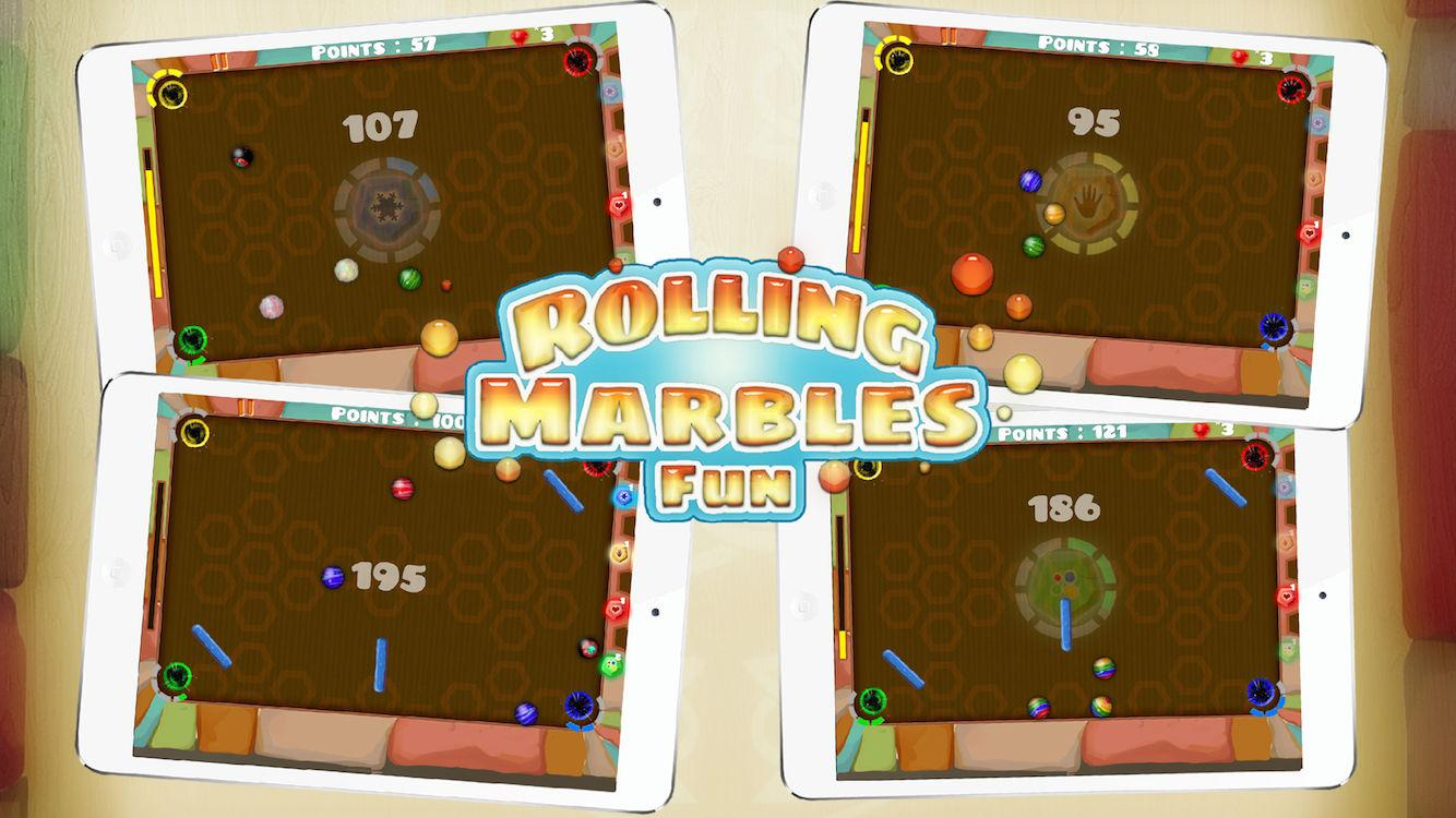 Rolling Marbles Fun- screenshot