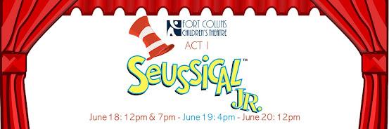 Act I Seussical, JR. - June 18 @ 7pm