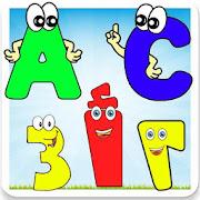 تعليم اللغة العربية الانجليزية للاطفال حروف ارقام.