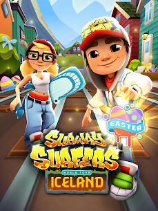 Download Subway Surfers Mod With Unlimited Coins/Keys free on android 9