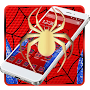 Red Spider Web Theme