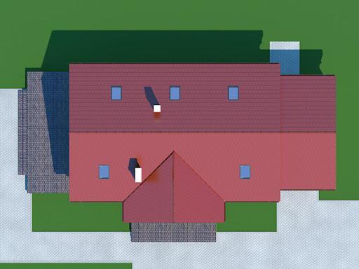 Chmielów z garażem - Usytuowanie