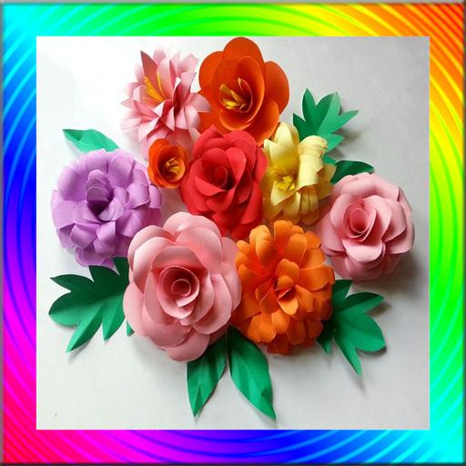 Flowers Making Craft Tutorial