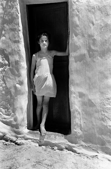 Imagen perteneciente a la serie \'La Chanca\' en blanco y negro.