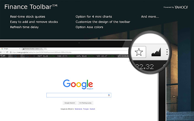 Google Stock Quote Brilliant Finance Toolbar  Real Time Stock Tracker  Chrome Web Store