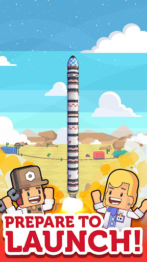 Rocket Star - Idle Factory, Space Tycoon Games 1.9.0 screenshots 2