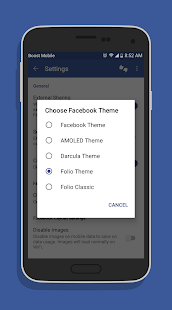 Folio Pro for Facebook Screenshot
