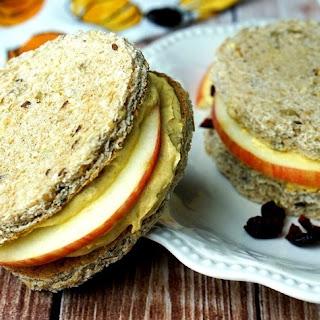 Easy Pumpkin Dip Cream Cheese Sandwiches.