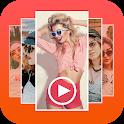 Music video - photo slideshow icon