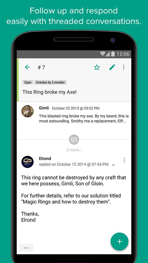 Freshdesk- screenshot